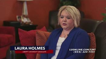 Liberty University TV Spot, 'Laura Holmes'