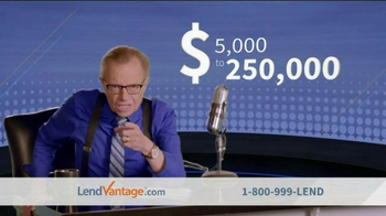 LendVantage TV Spot, 'Small Business Loans' ft. Larry King
