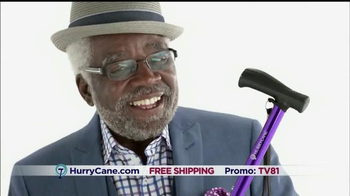 The HurryCane Operation Mobility Event TV Spot, 'Three Stunning New Colors'