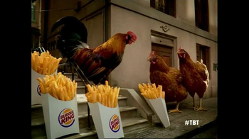 Burger King Chicken Fries TV Spot, 'Chicken Fries 2005'