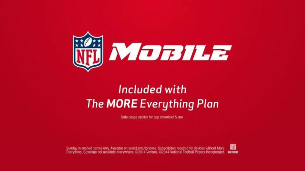 Verizon NFL Mobile TV Spot, 'Cooking Class' Featuring Drew Brees - Screenshot 8