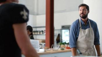 Verizon NFL Mobile TV Spot, 'Cooking Class' Featuring Drew Brees - Thumbnail 4