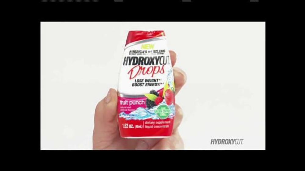 Hydroxy Cut Drops TV Spot