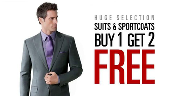 JoS. A. Bank TV Spot, 'August BOG2 Suits & Sportcoats'