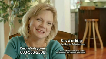 Empire Today Buy One Get One Free Sale TV Spot, 'Suzy Wooldridge'