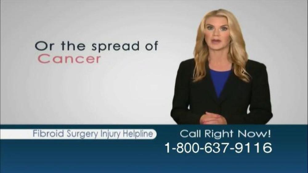 Pulaski Law Firm >> Weitz and Luxenberg TV Spot, 'Fibroid Surgery Injury ...