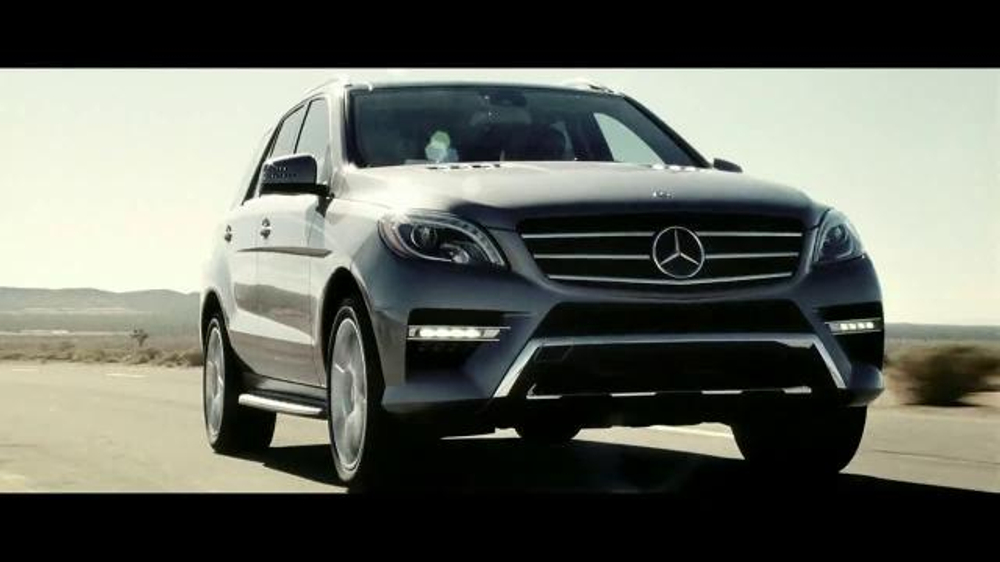 2015 Mercedes-Benz ML 350 TV Spot, 'The Worst of the Road' - Screenshot 1