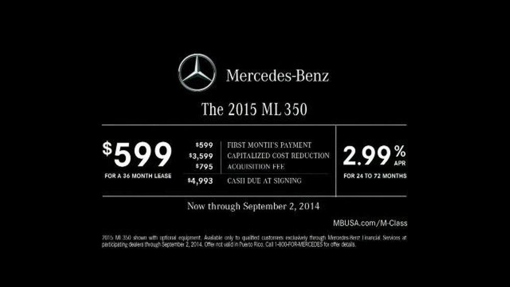 2015 Mercedes-Benz ML 350 TV Spot, 'The Worst of the Road' - Screenshot 9