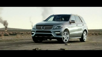 2015 Mercedes-Benz ML 350 TV Spot, 'The Worst of the Road' - Thumbnail 5