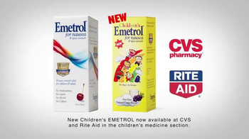 Emetrol TV Spot, 'Relief from Nausea and Stomach Flu'