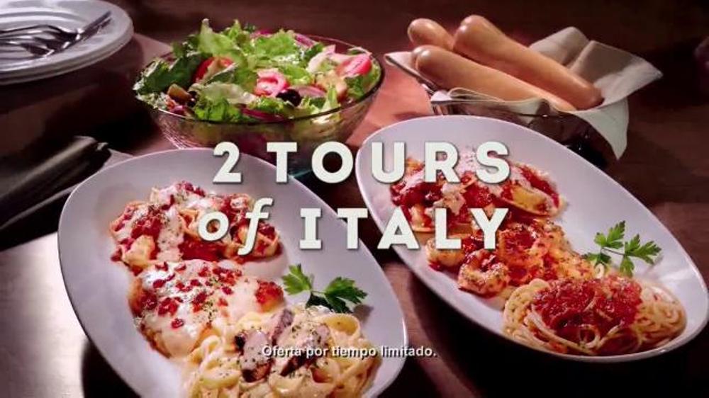 Olive Garden Northern Tour Of Italy Tv Spot 39 Delicioso Sabor 39 Spanish Screenshot 6