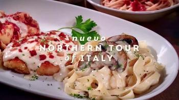 Olive Garden Northern Tour of Italy TV Spot, 'Delicioso Sabor' [Spanish]