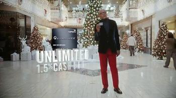 Capital One Quicksilver TV Spot, 'Holiday Spirit' Feat. Samuel L. Jackson thumbnail