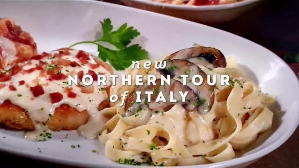 Olive Garden Culinary Tours Of Italy Tv Spot 39 Discover Two New Twists 39 Screenshot 2