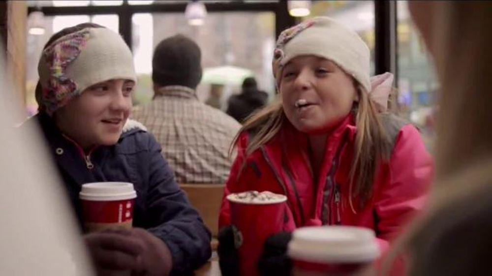 starbucks commercial 2014 meet me at