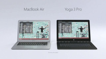 Microsoft Surface: Lenovo Yoga 3 Pro: Let's Dance