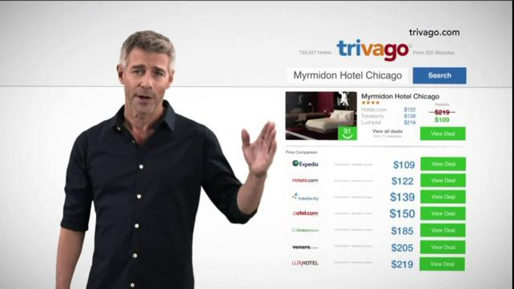 trivago TV Spot, 'Ideal Hotel for Less' thumbnail