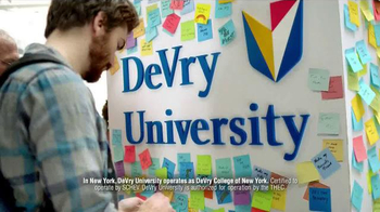 DeVry University TV Spot, 'Finish Your Degree'