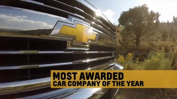 Chevrolet: Most Awarded Pickup