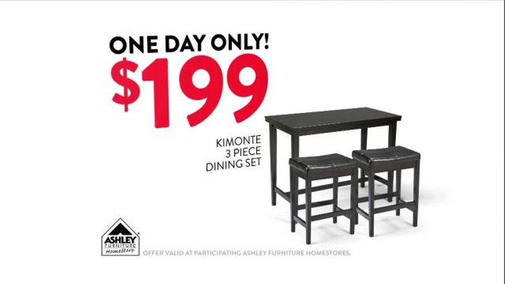 ashley furniture homestore one day only doorbuster tv commercial