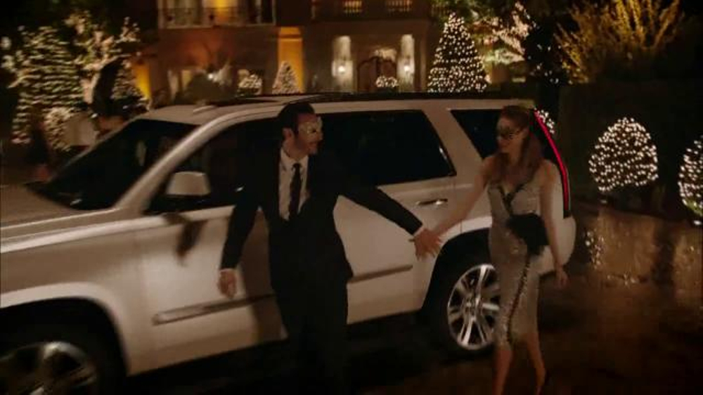 Cadillac Season's Best Event TV Commercial, 'Holiday Spirit' - iSpot