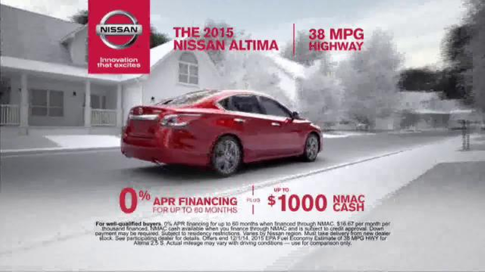 who is the actress in the nissan altima commercial. Black Bedroom Furniture Sets. Home Design Ideas
