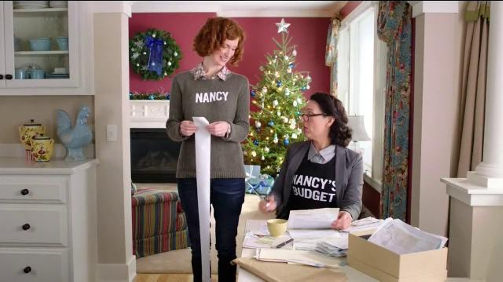 FingerHut.com TV Spot, 'Nancy and Nancy's Budget: Holiday'
