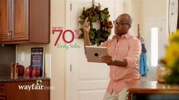 Wayfair TV Spot, 'Holiday Musical'