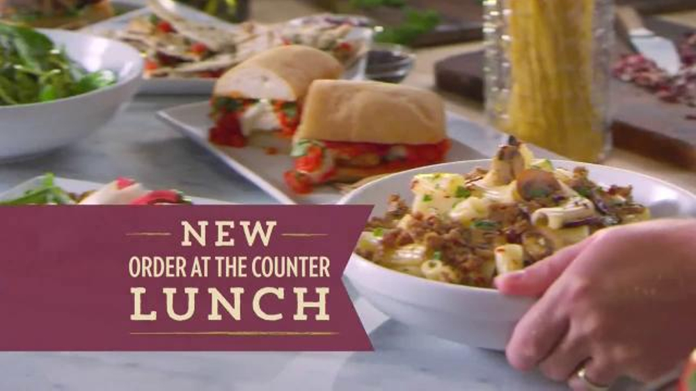 Romano's Kitchen Counter TV Spot, 'Lunch Menu'