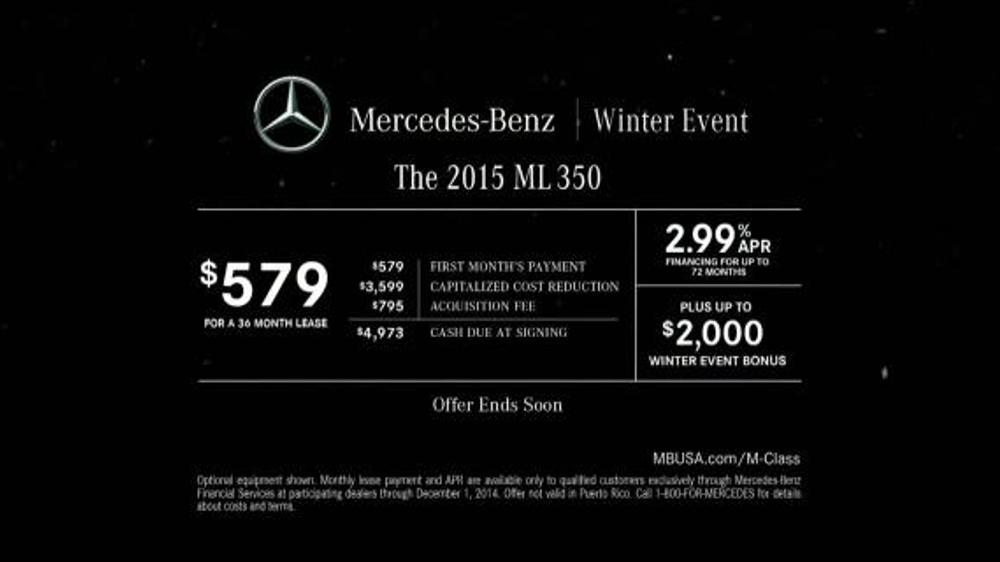 Mercedes benz winter event tv spot 39 glowing example for Mercedes benz winter event commercial
