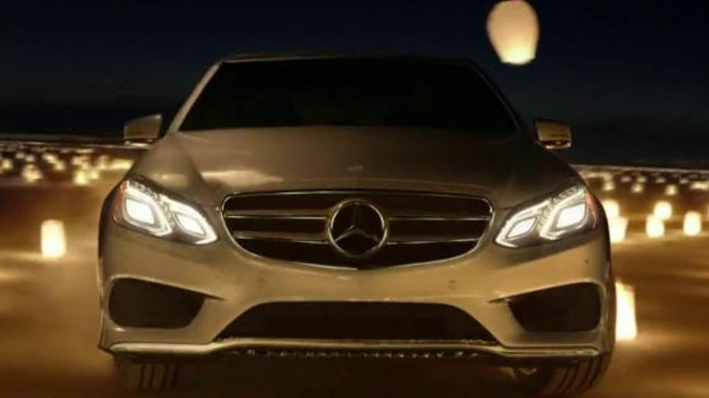 Real time tv advertising metrics for Mercedes benz winter event