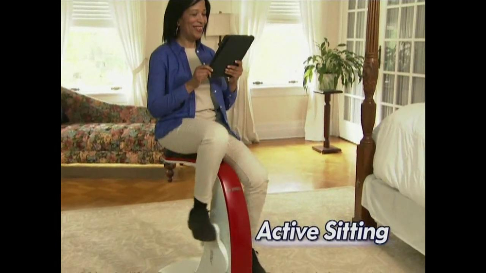 Sit N Cycle TV Spot Featuring Dorothy Hamill - Screenshot 4