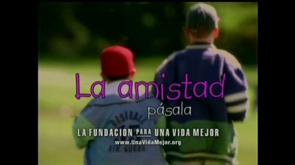 La Fundación para una Vida Mejor TV Spot, 'La Amistad' [Spanish] - Screenshot 7