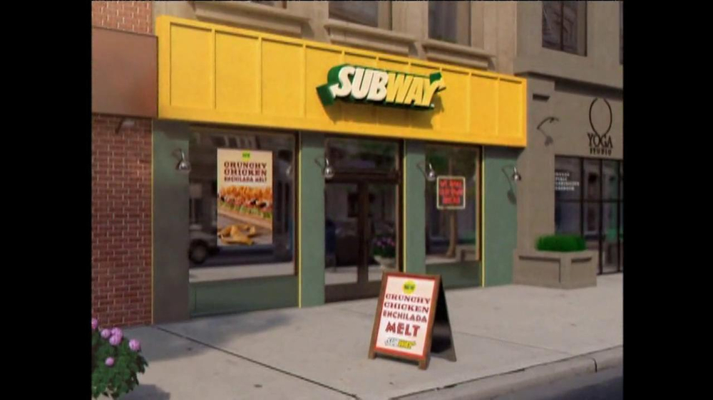 Subway Crunchy Chicken Enchilada Melt TV Spot, 'Muy Bueno' - Screenshot 1