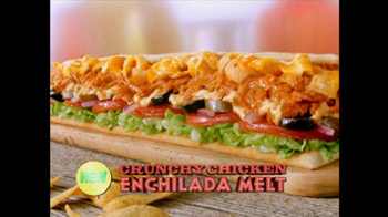 Subway Crunchy Chicken Enchilada Melt TV Spot, 'Muy Bueno' - Thumbnail 2