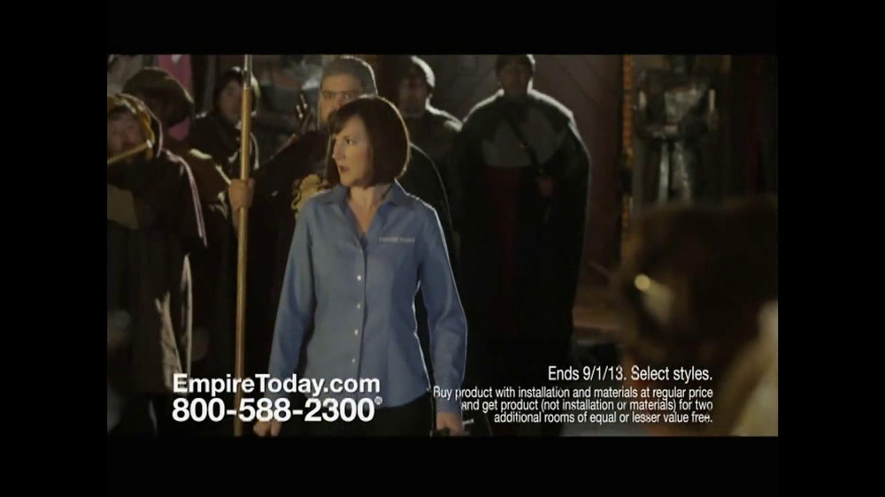 Empire Today TV Spot, 'Royal Court' - Screenshot 2