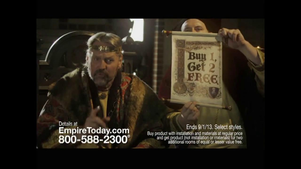 Empire Today TV Spot, 'Royal Court' - Screenshot 3