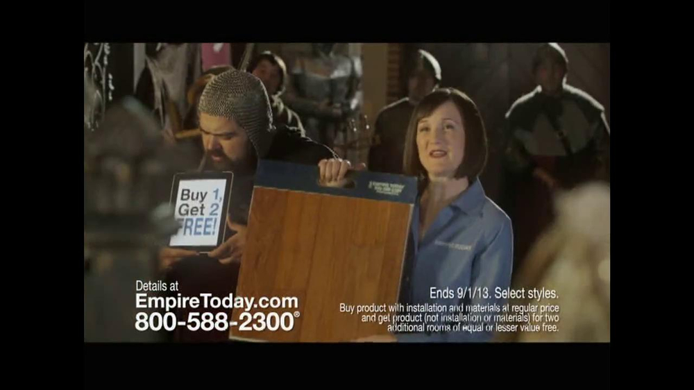 Empire Today TV Spot, 'Royal Court' - Screenshot 6