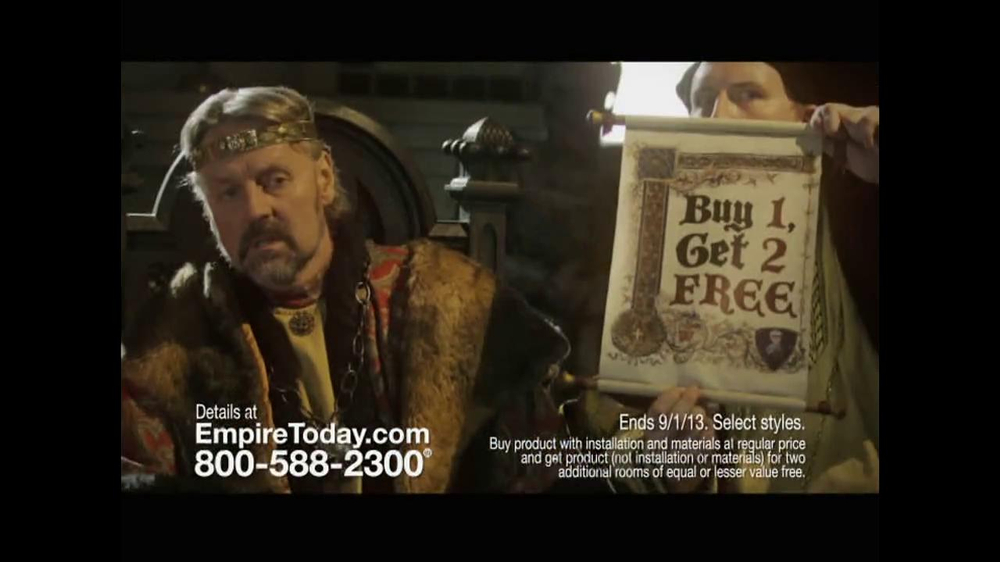 Empire Today TV Spot, 'Royal Court' - Screenshot 7