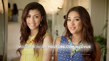 ACUVUE Moist TV Spot Featuring Shay Mitchell - Thumbnail 9