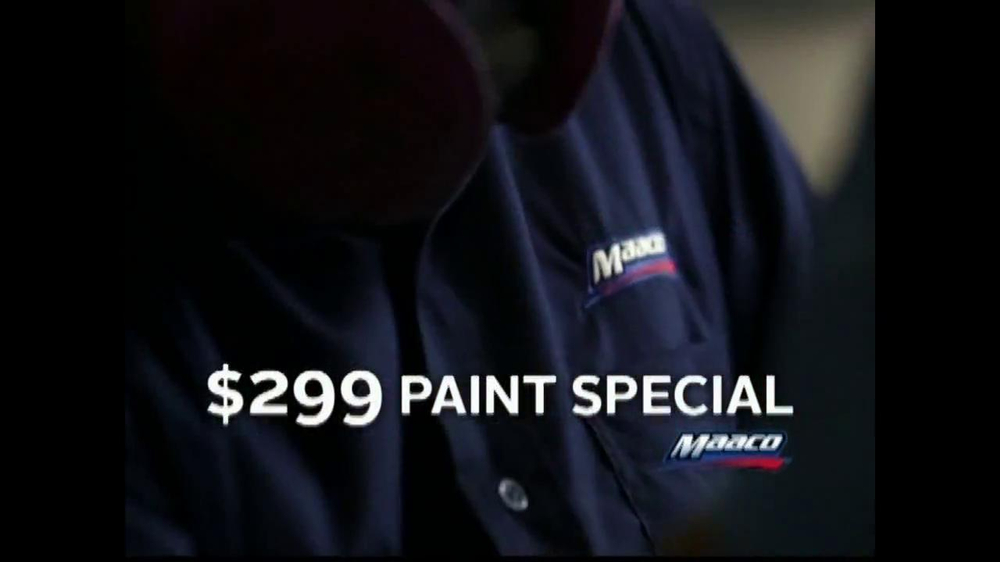 Maaco $299 Paint Special TV Spot - Screenshot 8