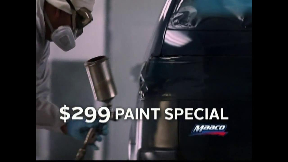 Maaco $299 Paint Special TV Spot - Screenshot 9