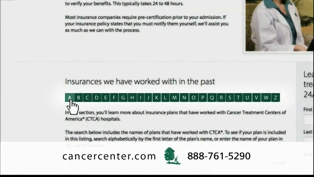 Cancer Treatment Centers of America TV Spot 'Rod' - Screenshot 10