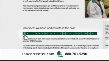 Cancer Treatment Centers of America TV Spot 'Rod' - Thumbnail 10