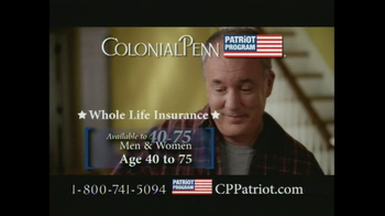 Colonial Penn Patriot Program TV Spot, 'Welcome Home' - Thumbnail 6