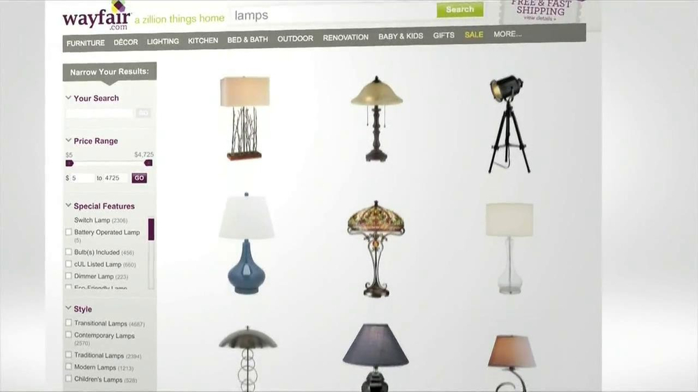 Wayfair TV Spot, 'Perfect For You' - Screenshot 3