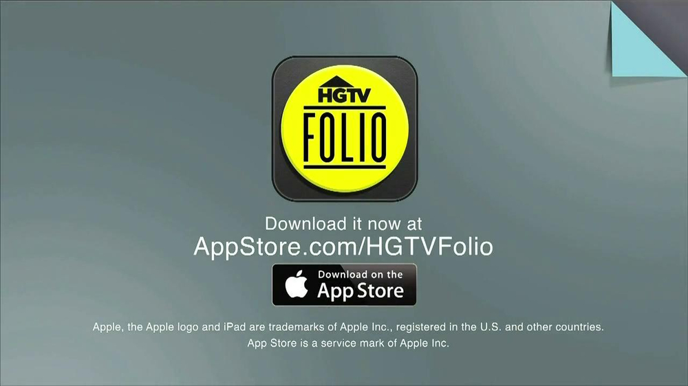 HGTV Folio App TV Spot - Screenshot 5