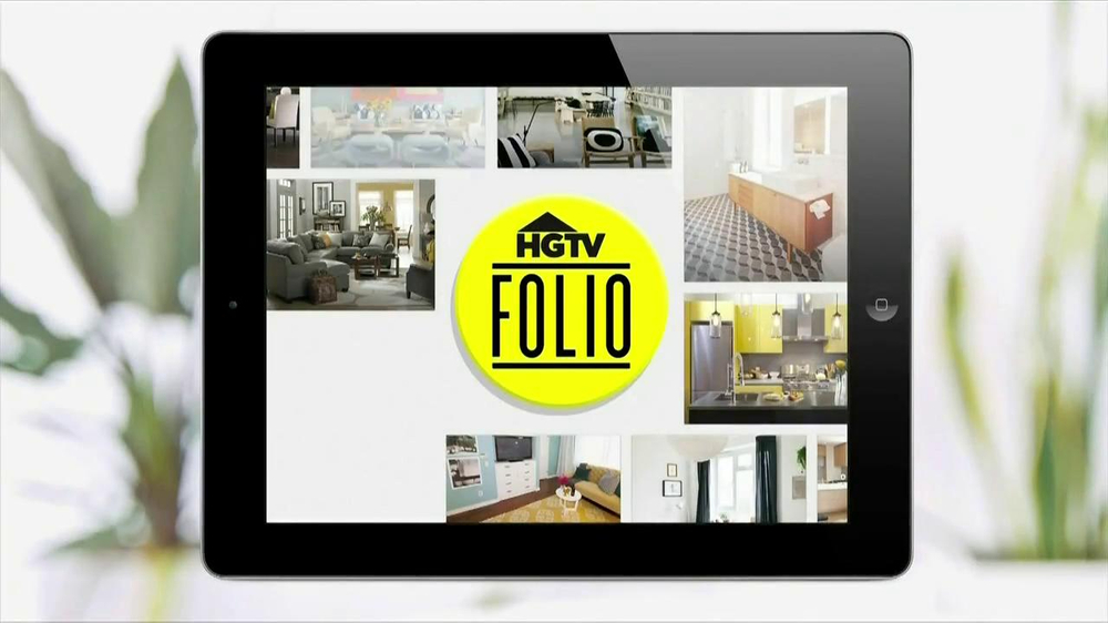 HGTV Folio App TV Spot - Screenshot 1