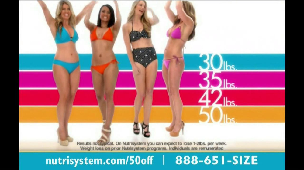 Nutrisystem TV Spot, 'Save 50%' - Screenshot 1