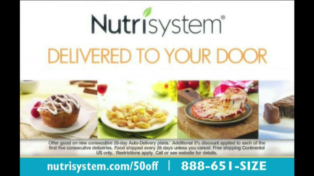 Nutrisystem TV Spot, 'Save 50%' - Screenshot 2